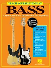 Teach Yourself to Play Bass - A Quick and Easy Introduction for Beginn 000138064