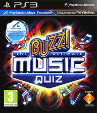 ELDORADODUJEU >>> BUZZ THE ULTIMATE MUSIC QUIZ 2010 PLAYSTATION 3 PS3 NEUF VF
