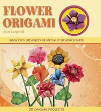 NEW Flower Origami: 20 Origami Projects by Joost Langeveld Spiral Book (English)