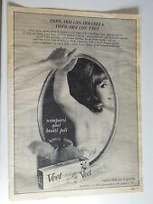 Advertising Pubblicità 1967 VEET CREMA DEPILATORIA