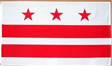 Washington DC District of Columbia 3x5 3 x 5 ft Flag House Banner indoor/outdoor