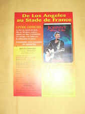 "JOHNNY HALLYDAY flyers ""La boutique des stars"""