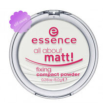 Essence ALL ABOUT MATT fixing compact pressed face powder setting translucent