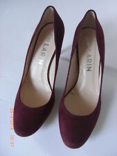 BY LARIN Mulberry Suede Ballet Court Shoe Lilac Sole Christmas New Box UK 6 39