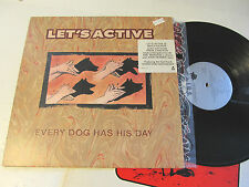 Let's Active ORIG US LP Every dog has it's day NM '88 Mitch Easter REM PROMO !!
