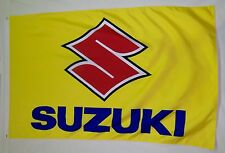 Suzuki Motorcycle 3' X 5' Flag Premium Indoor Outdoor Bike Banner