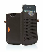 Cygnett CY0428CPMIL Milan Case for iPhone 4S - 1 Pack - Retail Packaging - Brown