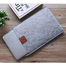"Grey Wool Felt Smart Laptop Case Cover Bag for 11/11.6"" inch Apple Macbook Air"
