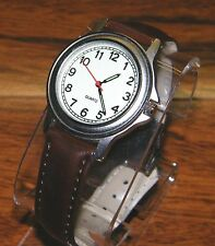 Unbranded Quartz Leather Strapped 12 Hour Analog Wrist Watch For Male or Female!