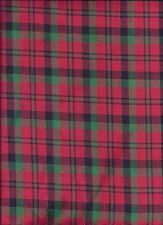 Christmas Plaid Red Green curtain valance
