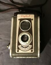 Vintage Kodak Duaflex IV Koder Lens Camera use 620 Film with Strap