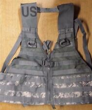 NEW USGI ACU MOLLE II FIGHTING LOAD CARRIER FLC TACTICAL VEST DIGITAL CAMO DRing