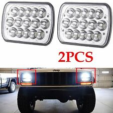 7x6 Cree Sealed Beam 6054 H6054 LED Crystal Clear For Jeep Cherokee XJ Headlight