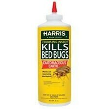 NEW HARRIS HDE-8 BED BUG POWDER INSECT ANT KILLER 8OZ POWDER SALE 824-6365
