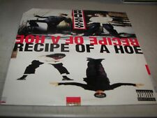 "BOSS RECIPE OF A HOE / BORN GANGSTA 12"" Single VG+ DJ West 42-74967 1993"