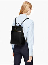 NWT KATE SPADE Blake Ave HILO Nylon Backpack Black Bag Purse NEW