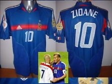 France Adidas Adult S Zidane Football Soccer Shirt Jersey Vintage Real Madrid
