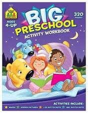Big Preschool Activity: Dot-to-Dots, Mazes, and Hidden Pictures (Paperback)