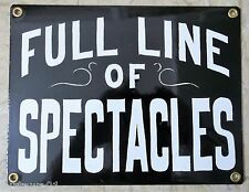 Full Line Of Spectacles Sign Advertising Eye Glasses Spectacles Optometry Decor