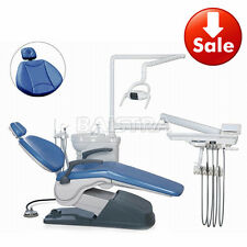 Computer Controlled Dental Unit Chair Leather Stool & Handpiece Scaler Sets