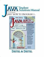 Java: How to Program, Fifth Edition (Student Solutions Manual)