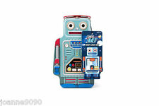 SUCK UK LUNCHBOT ROBOT LUNCH BOX TIN KIDS FATHERS DAY RETRO SCHOOL NOVELTY GIFT