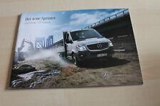 139053) Mercedes Sprinter - Pritsche + Fahrgestell - Prospekt 03/2013