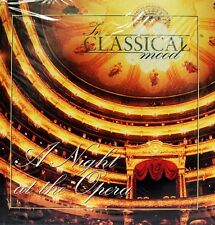 Brand New In Classical Mood: A Night at the Opera #37 CD & Book Verdi, Mozart