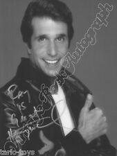 HAPPY DAYS - Fonzie, Winkler - print signed photo - foto con autografo stampato