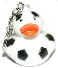 RUBBER SOCCER BALL DUCK KEY CHAIN (KC013)
