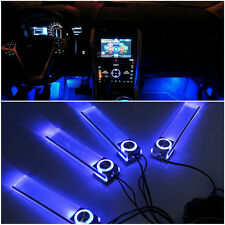 Blue Car Decorative Lights Charge LED Interior Floor Decoration Lamp 4 In 1 IT