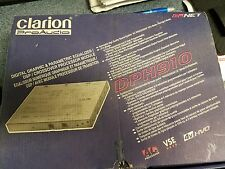 Open Box Clarion DSP,Crossover,Equalizer,DPH910,Rare