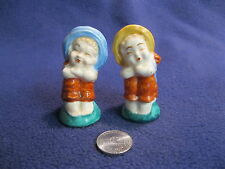 Happy Sitting on Hill Country Girls Salt and Pepper Shaker Ceramic         44