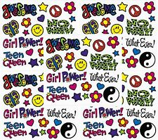 Frances Meyer Teen Girl Power Groovy Awesome Scrapbook Stickers! 5 Sheets