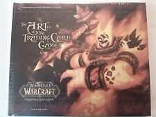warcraft,wow,art of trading card game ,tome 1, neuf,sous film