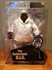 Notorious BIG action figure by Mezco - White Suit VERY RARE