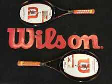 2X WILSON PRO STAFF CLASSIC 6.1 TENNIS RACKETS GRIP L3 free post uk rrp £360.00