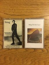 Sting (The Police) Unique Italian Tapes Muio per Te The Soul Cages 1991 As Promo