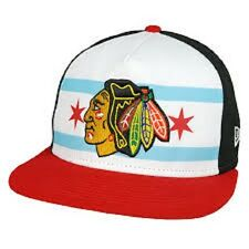 Exclusive Chicago Blackhawks New Era City Factor Flag Collection 9FIFTY RARE!!!