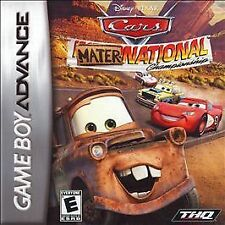 Cars: Mater-National Championship (Nintendo Game Boy Advance, GBA) New, sealed.