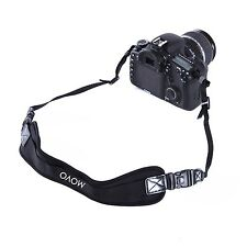 Movo Photo NS-2 Shock-Absorbing Padded Neoprene Camera Neck Strap with Quick Rel