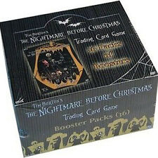 NIGHTMARE BEFORE CHRISTMAS - Trading Card Game Booster Box (NECA) #NEW