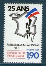 TIMBRE N° 2481 NEUF XX LUXE - RASSEMBLEMENT MONDIAL DES PIEDS NOIRS A NICE