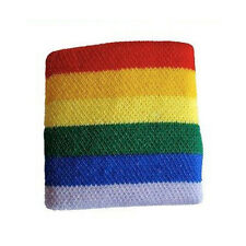 Pride Shack Rainbow Wristband Sport Wristlet Gay and Lesbian LGBT Pride Bracelet