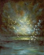 6'x9' Hand-Painted Canvas Scenic/Old Master Photo Backdrop Background 41-110