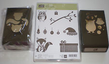 Stampin' Up! Cozy Critters Stamp set + Owl Builder Punch + Fox Builder punch