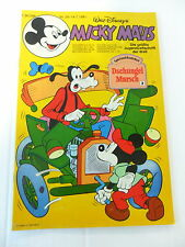 1x Comic - Micky Maus - inkl. Beilage - Jahrgang 1981 - Nr. 29)