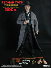 "Redman Toys RMT 1/6 Scale 12"" Cowboy DOC 2 Action Figure RM012"