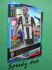 Topps Champions League 2016 17 limited Edition Pro11 Chiellini Match Attax