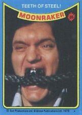 1979 Topps Moonraker #35 Teeth Of Steel   James Bond   Moore   Jaws Richard Kiel